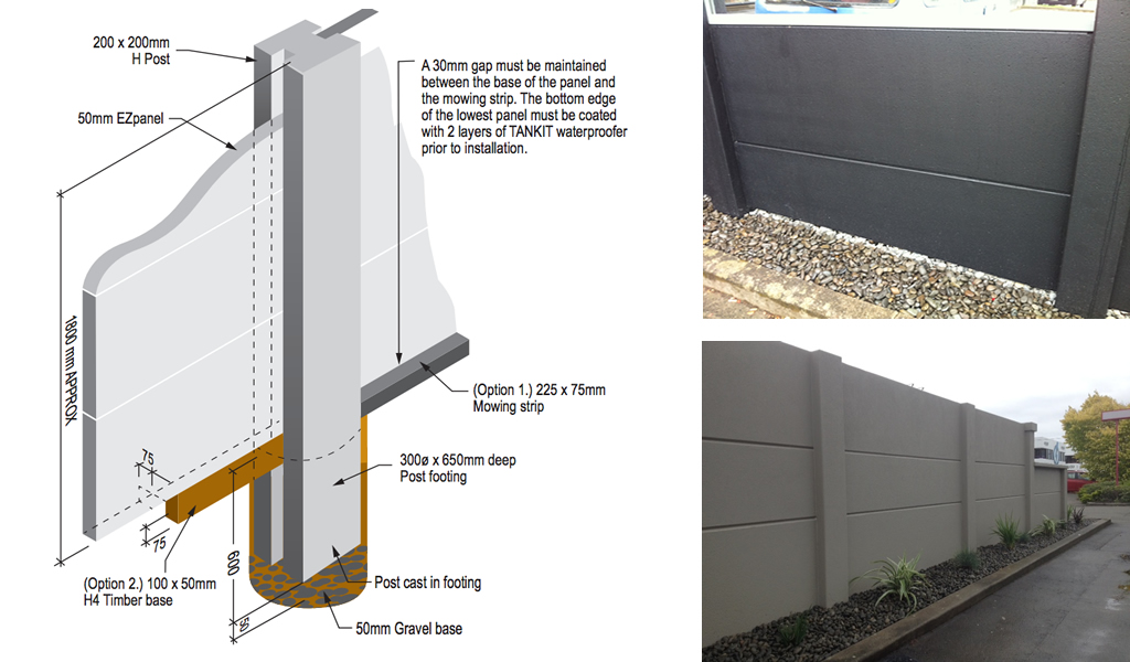 Ezfenz Lightweight Autoclaved Aerated Concrete Panel