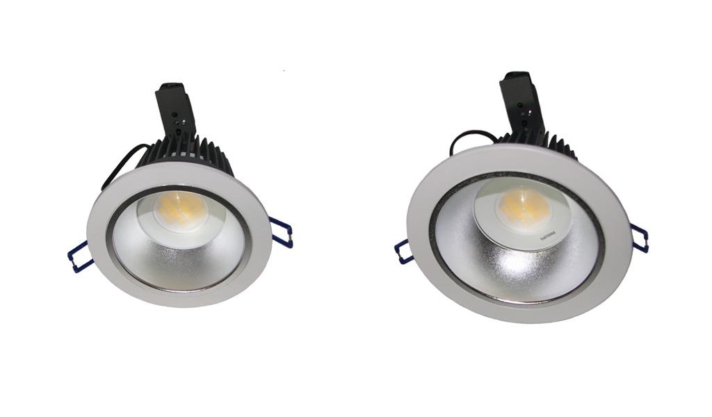 New LED recess lights