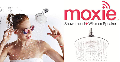 Surround yourself with sound for a new kind of KOHLER shower experience…