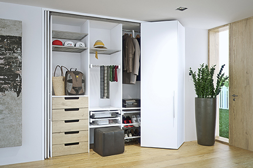 HAWA-Folding Concepta 25 by Häfele – Use of Space Redefined