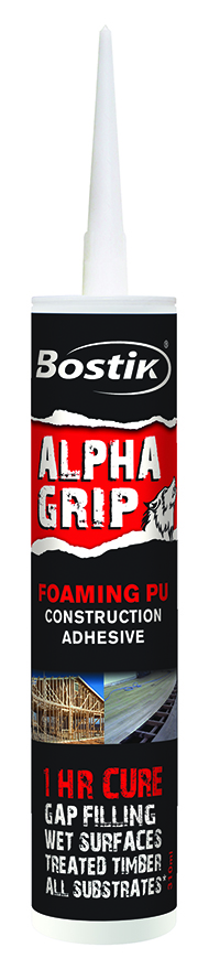 BOSTIK ALPHA GRIP – Tested and Approved for use with strandfloor®