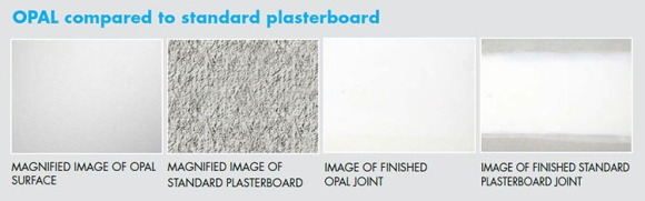 OPAL and TruRock from Knauf Plasterboard – superior performance for the same price