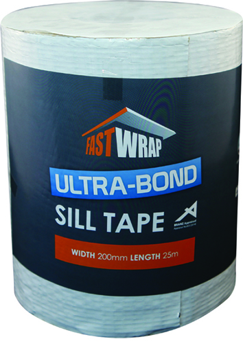 Fastwrap Ultra-Bond Sill Tape – stronger, superior, reliable