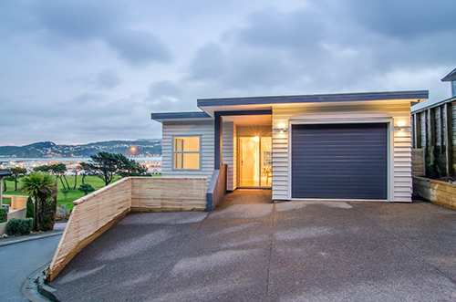 Exposed Wellington home utilises Linea Weatherboard for aesthetically stylish weatherproofing