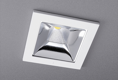 The CONCORD – Myriad V Square LED Downlight redefines innovative interior lighting