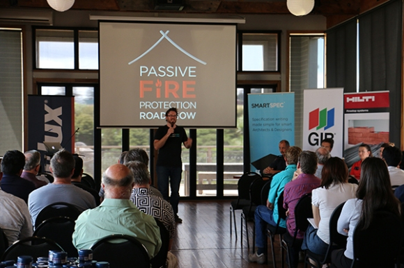 The FREE Passive Fire Protection CPD Roadshow has begun!