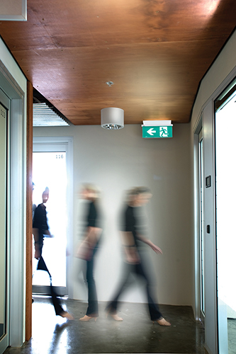 New Legrand LED Emergency Exit has a distinct edge