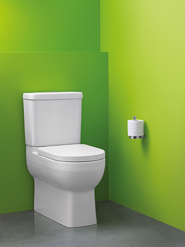 Compact genius… just Reach for the most efficient toilet