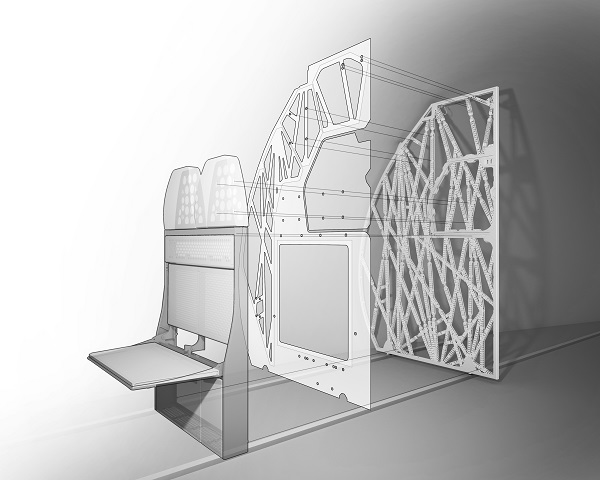 Airbus Bionic Partition