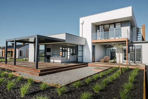 St Kilda Showhome featuring James Hardie